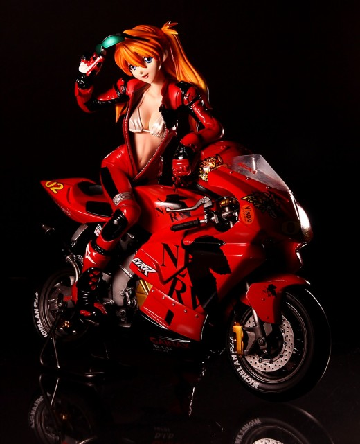 E2046/Vispo Asuka Langley Soryu from Neon Genesis Evangelion Figure Review