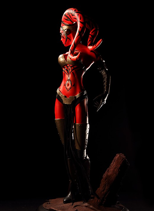 Darth Talon from Star Wars Legacy Figure Review