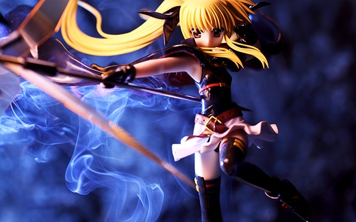 Alter Fate Testarossa from Magical Girl Lyrical Nanoha Figure Review