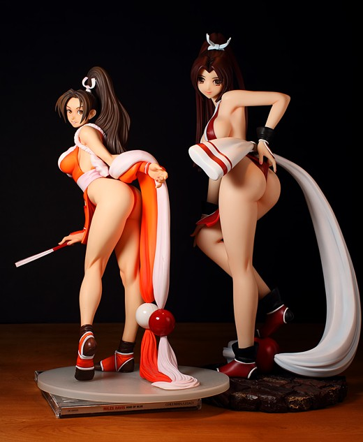 Alphamax Mai Shiranui from KOF Figure Review