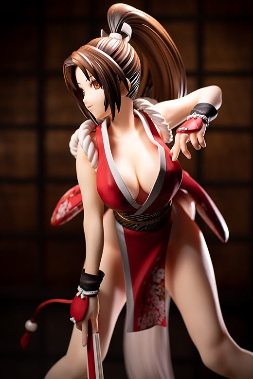 Mai Shiranui figure