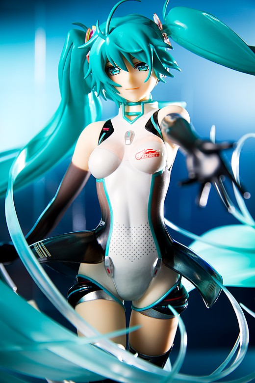 Miku Hatsune Racing 2011 figure by Good Smile Company