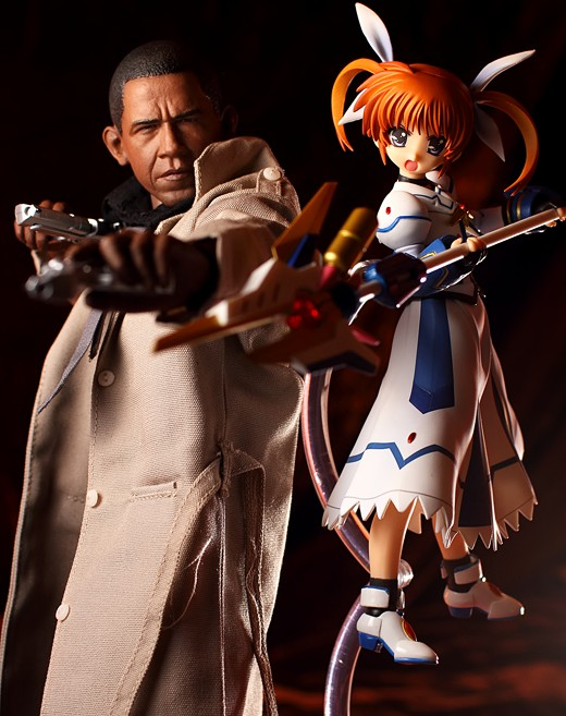 Good Smile Company Nanoha Takamachi actsta Figure Review