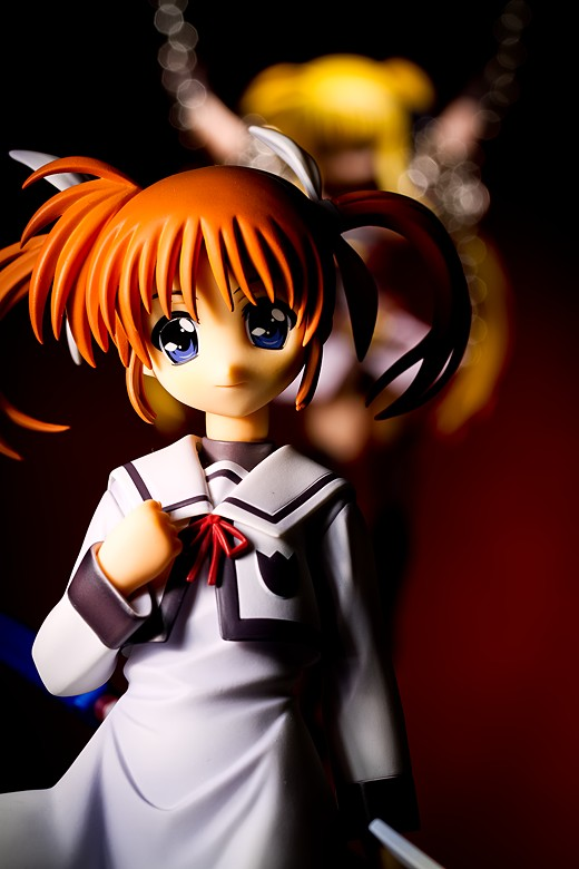 Nanoha Takamachi from Magical Girl Lyrical Nanoha Figure Review