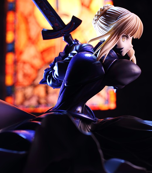 Saber Alter profile shot