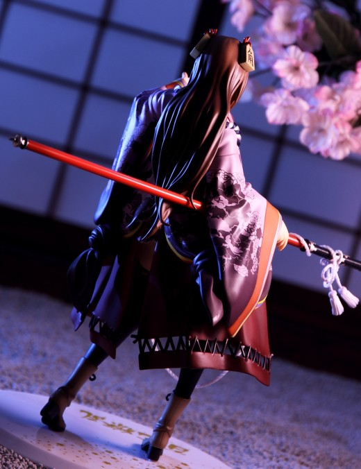 Alter Senhime from Hyakka Ryoran Samurai Girls Figure Review