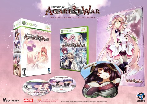 Agarest War Really Naughty Limited Edition
