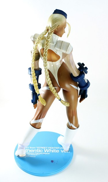 Kaiyodo Cammy from Street Fighter Review
