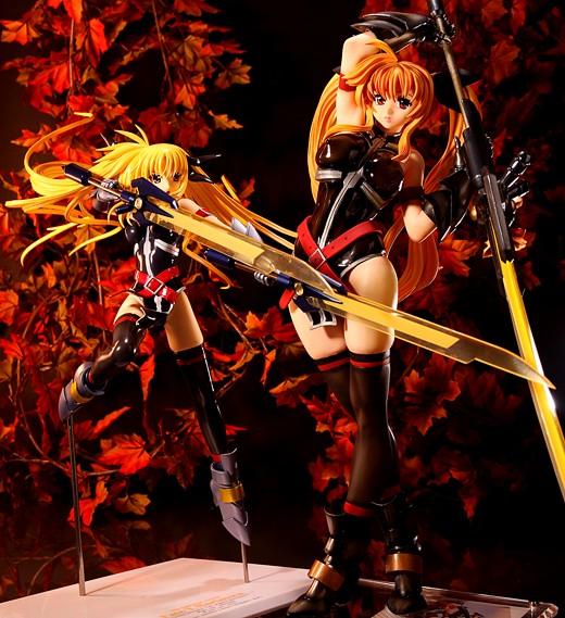 Cobra Kai Fate T. Harlaown and Alter Fate T. Harlaown Shin Sonic Form