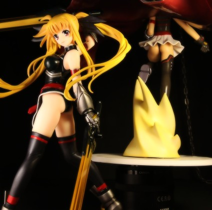 Volks Fate T. Harlaown from Magical Girl Lyrical Nanoha StrikerS Figure Review