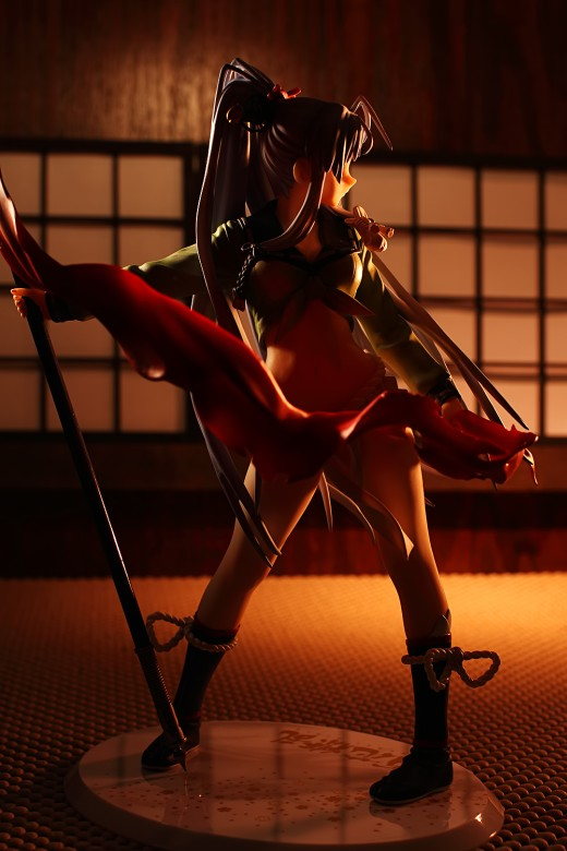 Gotou Matabei from Hyakka Ryouran Samurai Girls Figure Review
