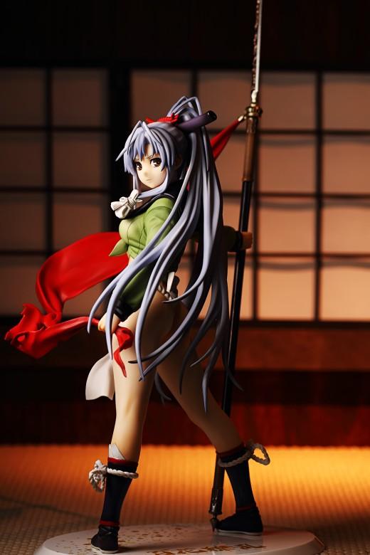 Gotou Matabei from Hyakka Ryouran Samurai Girls Figure Review