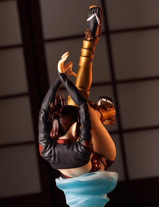 Embrace-Japan Kagari from Ninja Girls Figure Review