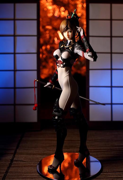 Yamato Kiriko Hattori from Dai Shogun Figure Review