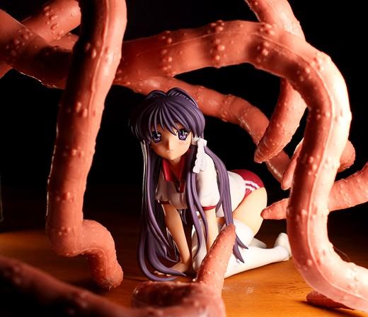 Kotobukiya Kyou Fujibayashi from Clannad Figure Review