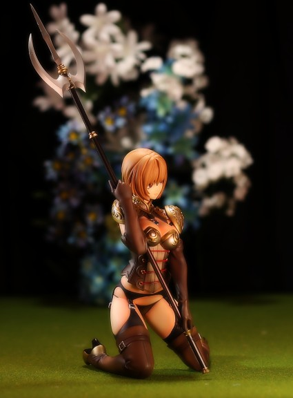Orchid Seed Lancer from Red Stone Figure Review