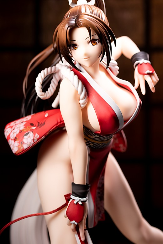 Mai Shiranui from The King of Fighters