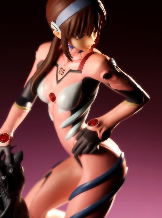 Kotobukiya Mari Illustrious Makinami from Neon Genesis Evangelion Figure Review