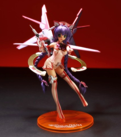 Orchid Seed Mecha Nurse Girl Nana from Megami Magazine Creators Review