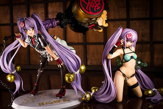 Both of Alter's Naoe Kanetsugu figures
