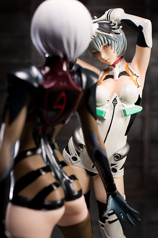 Rei Ayanami figure