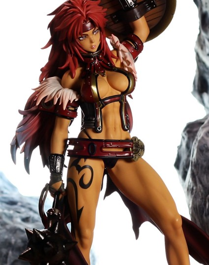 MegaHouse Risty from Queen's Blade Review