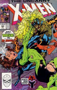Uncanny X-Men #269 cover