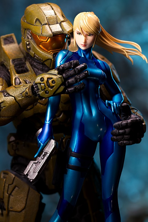 Samus Aran from Metroid Figure Review