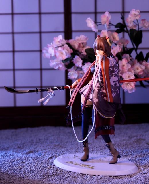 Alter Senhime from Hyakka Ryoran Samurai Girls Figure Review