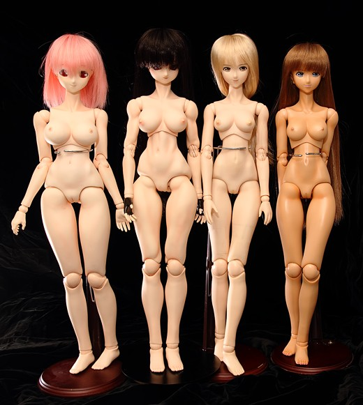 vmf50 Doll Lineup, Front
