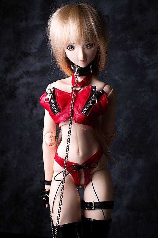 vmf50 Simone in red underwear
