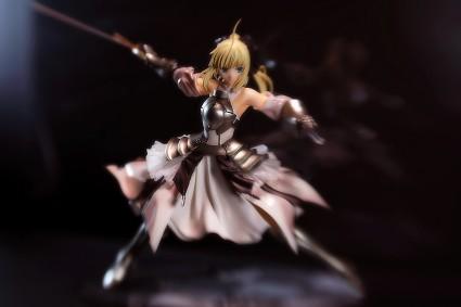 Saber Lily figure
