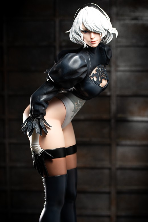 Figure of 2B from Nier: Automata